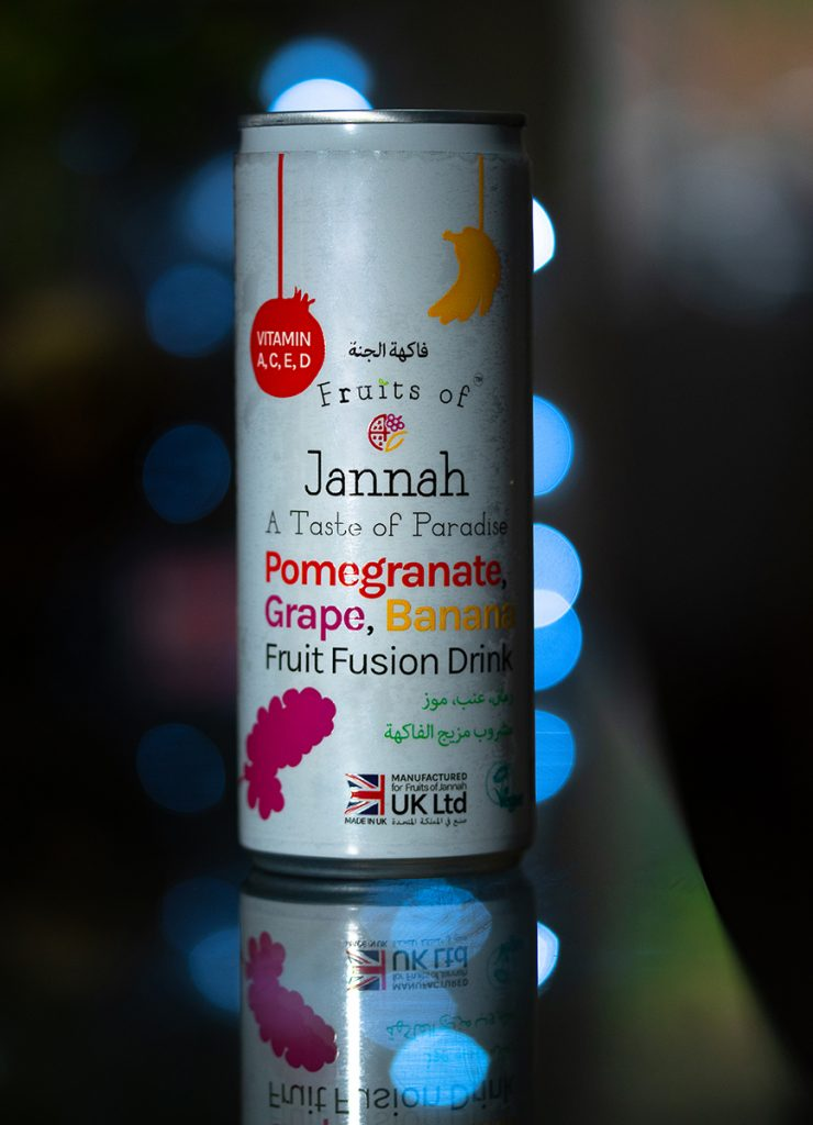 Fruits of Jannah Drink Can 1